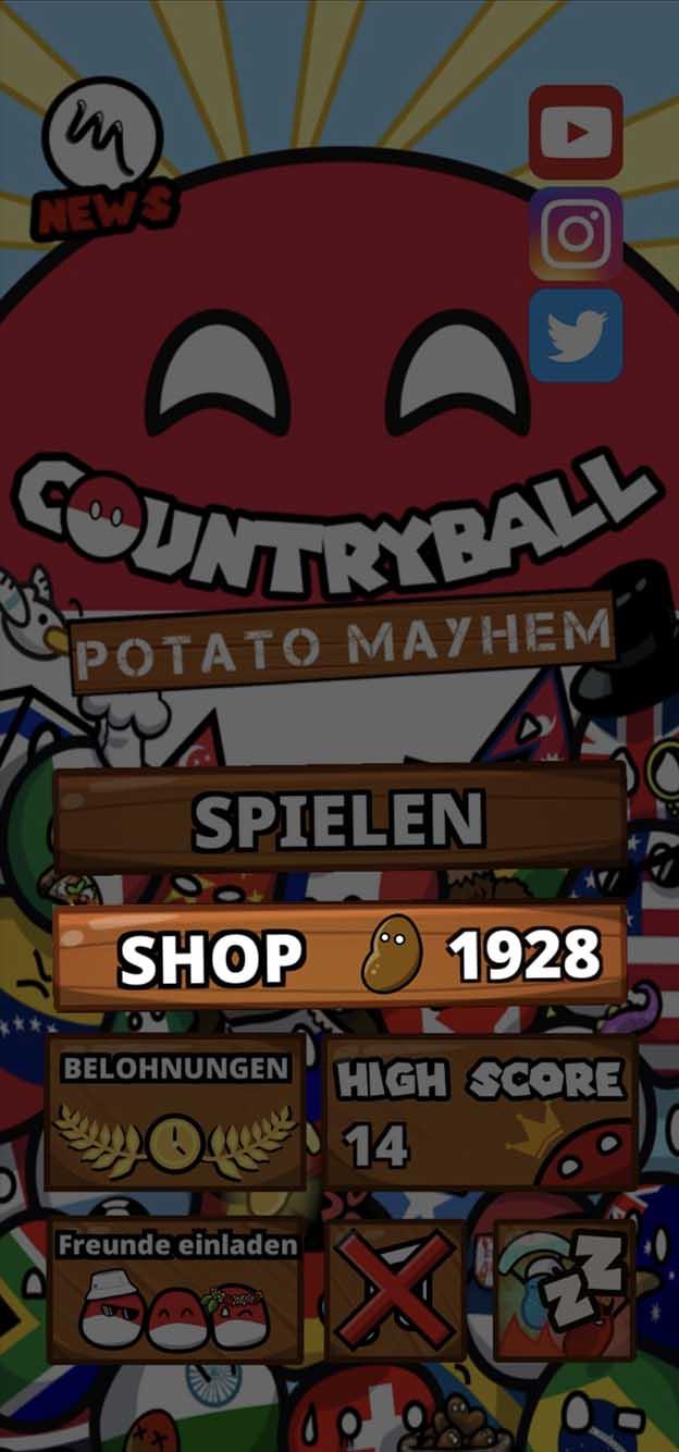 2. In the main menu select «SHOP»