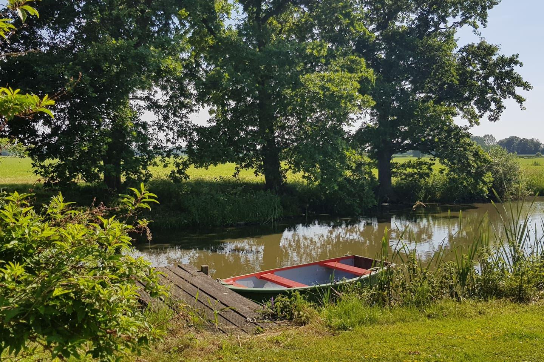 Direkt am Weserradweg, Erholung in der Natur