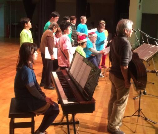 社協主催、「ハートフル音楽祭」