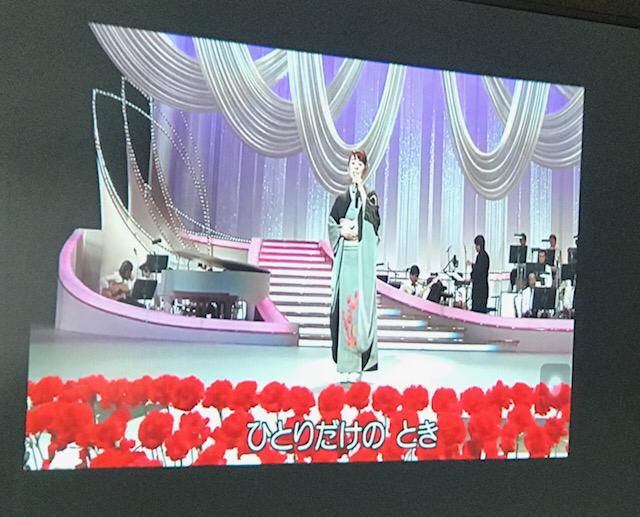 ☆最終日恒例の佐藤弥子さんのプレゼント、最後のはなむけの曲は島津亜矢 is さんの「感謝状〜母へのメッセージ」。