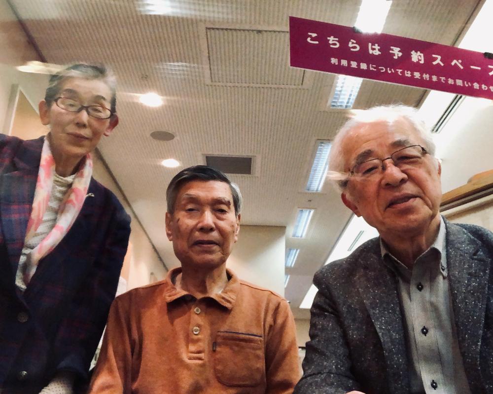 ☆右側は一般社団法人アイオーシニアズジャパン 代表理事。山根。生田美子さん。