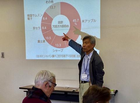 ☆ネットに出ていた、日経のWeb版「スマホ国内市場のメーカー別シェア IDCジャパン調べ」をご紹介。