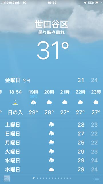 ☆会議は17:00から、会場に着いて見た気温31℃。