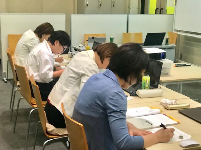 ☆最後の難関筆記試験。60分20問。「漢字が書けません。ついついカタカナやひらがなで代用」。