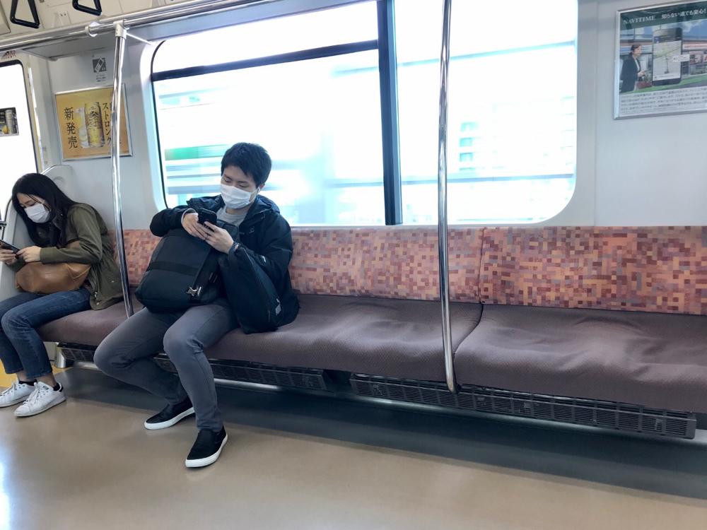 ☆某日15:01 JR中央線の車内。