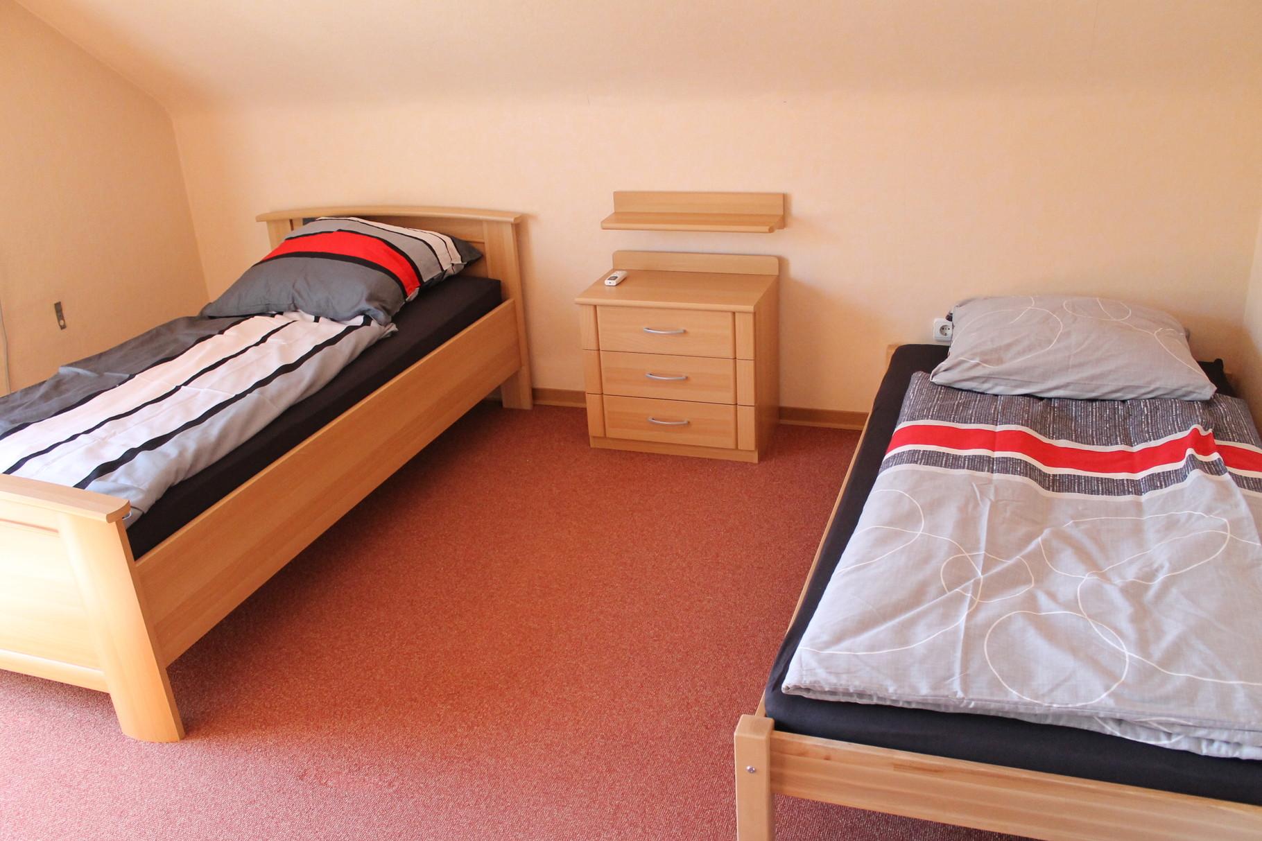 Wohnung 1  Zimmer 2  mit  TV  Klimaanlage