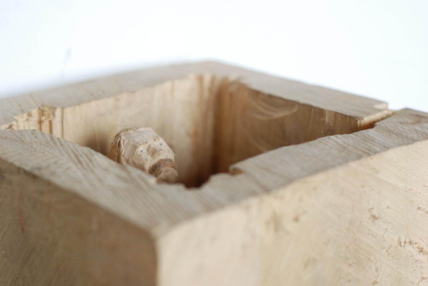 Kiste 1    I  Pappelholz, Farbe  I  2012
