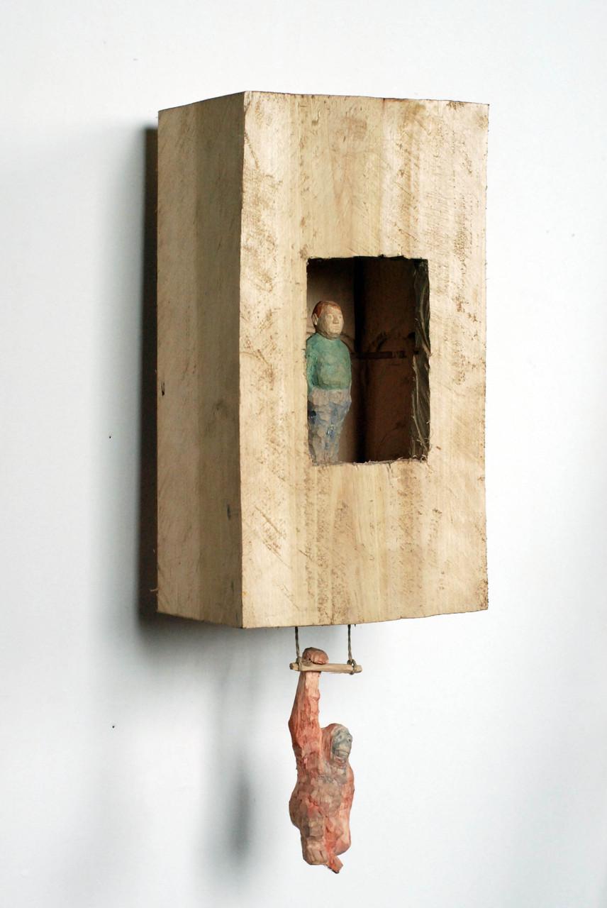 Kiste 14  I  Pappelholz, Farbe  I  2013