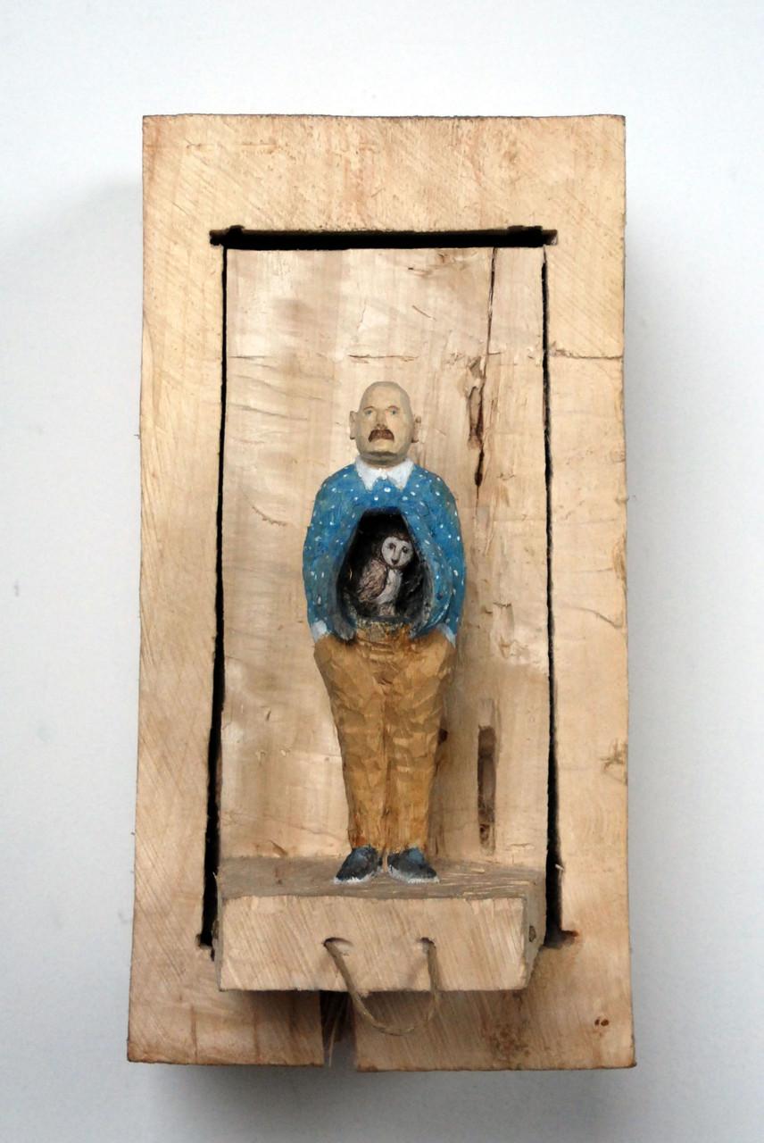 Kiste 31  I  Pappelholz, Farbe, Schnur  I  2014