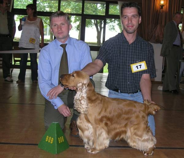 Johnny auf der LGS Langenlebarn 2006, Sieger Niederösterreich, Rassebester - BOB, Best in Show