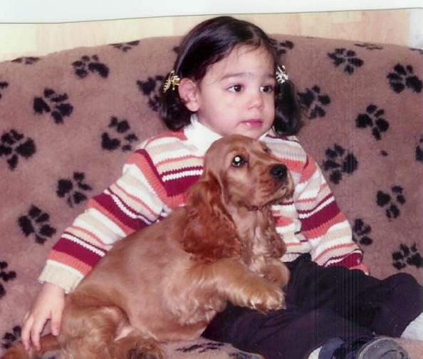 Rosi mit ihrer Freundin Julia