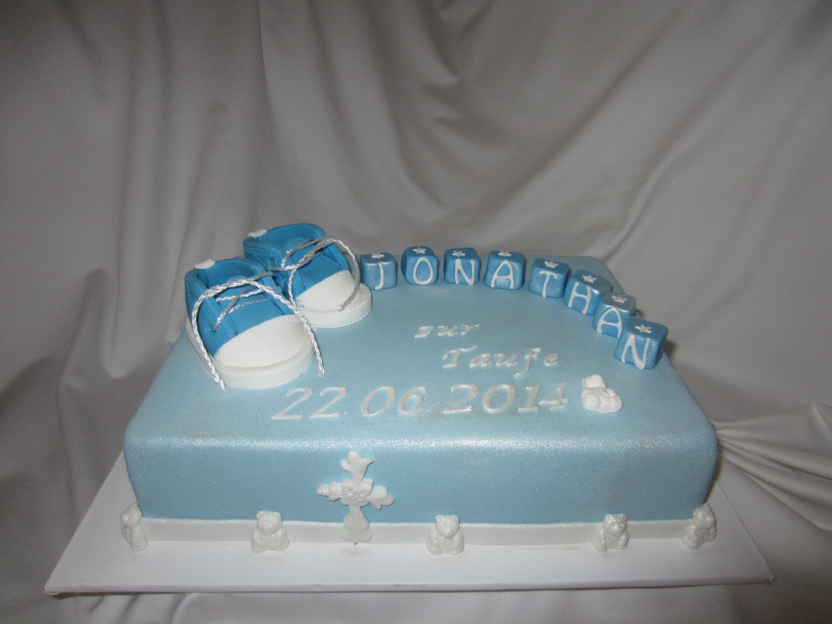 Torte für die Taufe