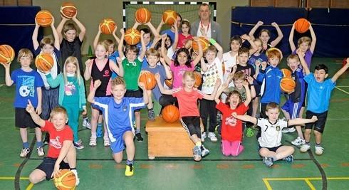 Das sportartenübergreifende Angebot findet Anklang bei vielen Kindern aus Stade und Umgebung. Fotos Borchers