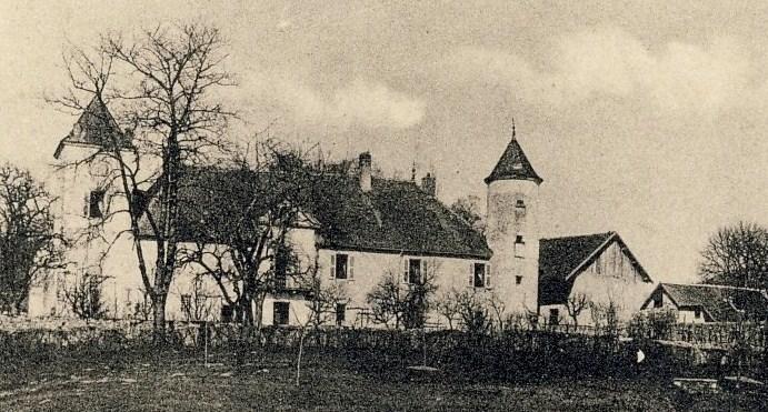 Le château de la Fléchère à Vanzy. Propriété Bastian où habitera le neveu du colonel, François Bastian et son épouse Alix Collomb sans doute une des nièces préférées.