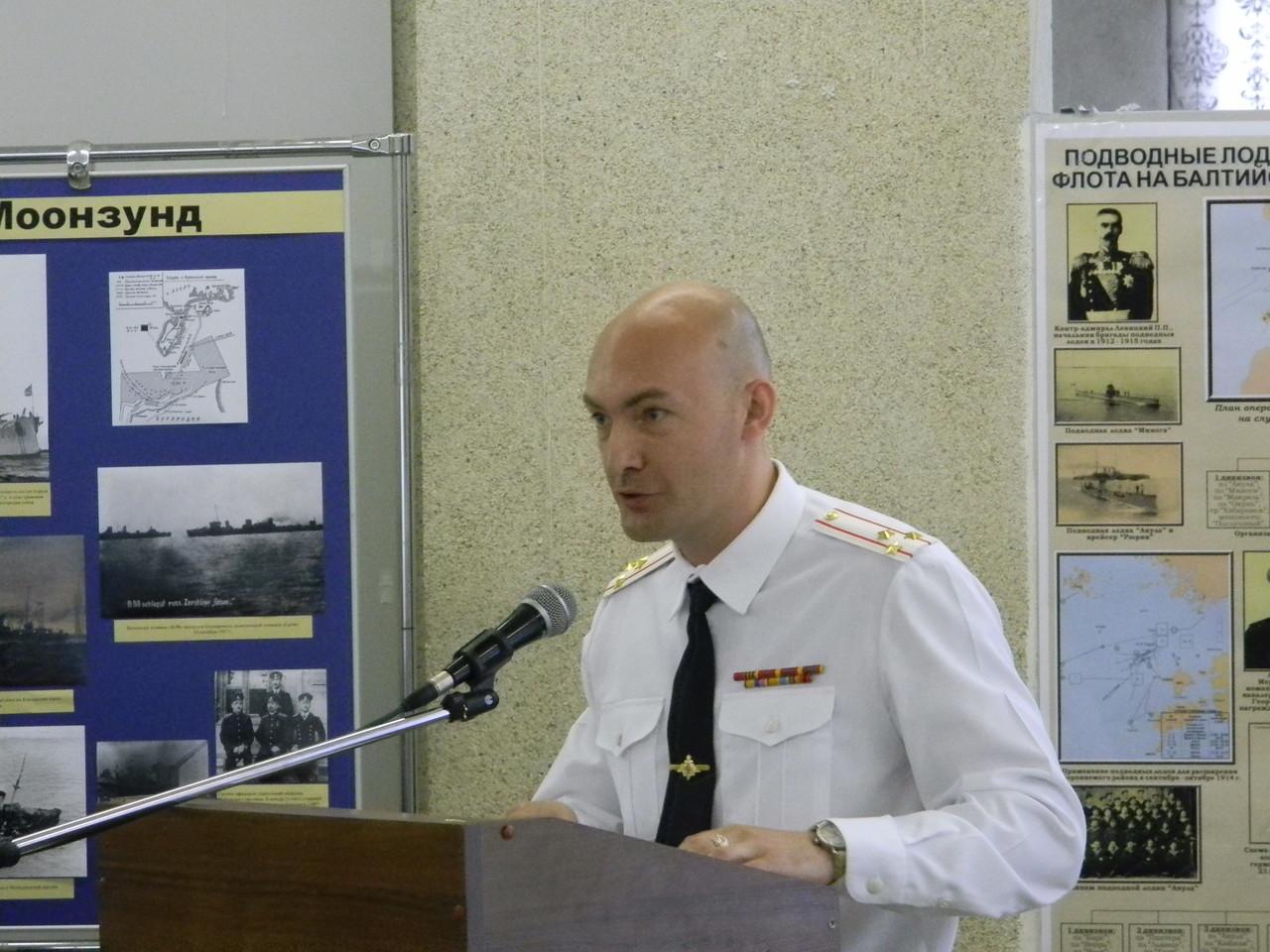 Полковник В.Г. Кикнадзе