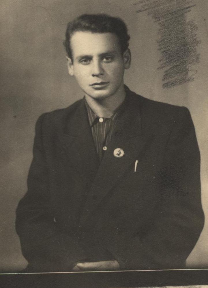 Смиловицкий Л.М., студент Минского юридического института, 1951 г.