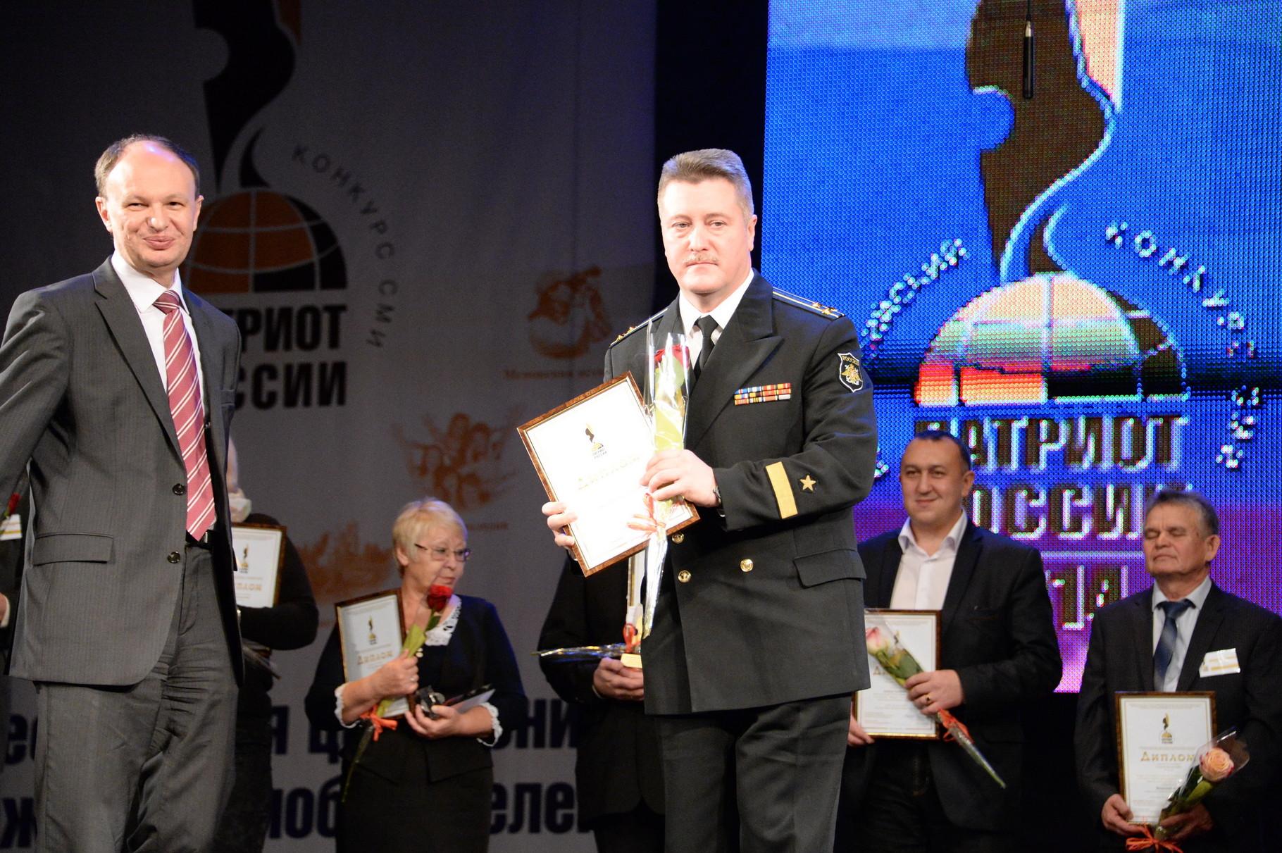 Капитан 1 ранга Михаил Севастьянов. Фото Павла Герасимова