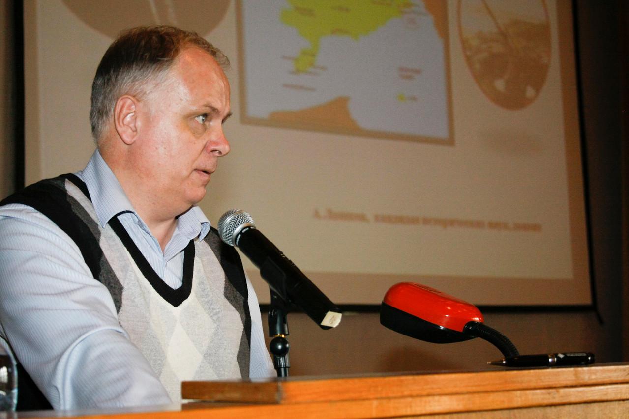 Кандидат исторических наук А.Ю. Лашков (НИИ ВИ)