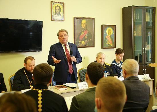 Всероссийская Ушаковская Беседа, ДПФ, М. Ненашев, Москва, 2021