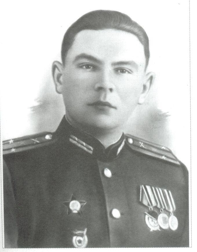 Подполковник Б.П. Уткин