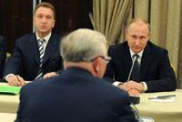Путин, Шувалов, Шохин, съезд РСПП, март 2015