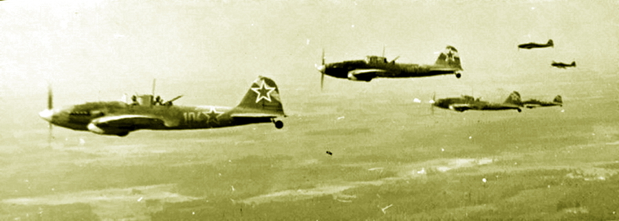 Самолеты Ил-2 из 622-го штурмового авиационного полка (Керченский полуостров) / Pic. 2. Il-2 planes from the 622nd assault aviation regiment (Kerch Peninsula)