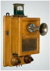 Телефонный аппарат Е.И. Гвоздева