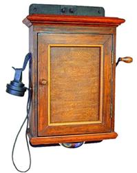 Телефонный аппарат П.М. Голубицкого