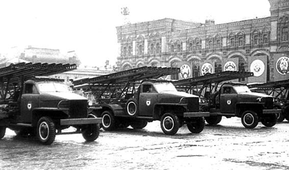 Студебеккер, Красная площадь, Парад Победы 1945 года