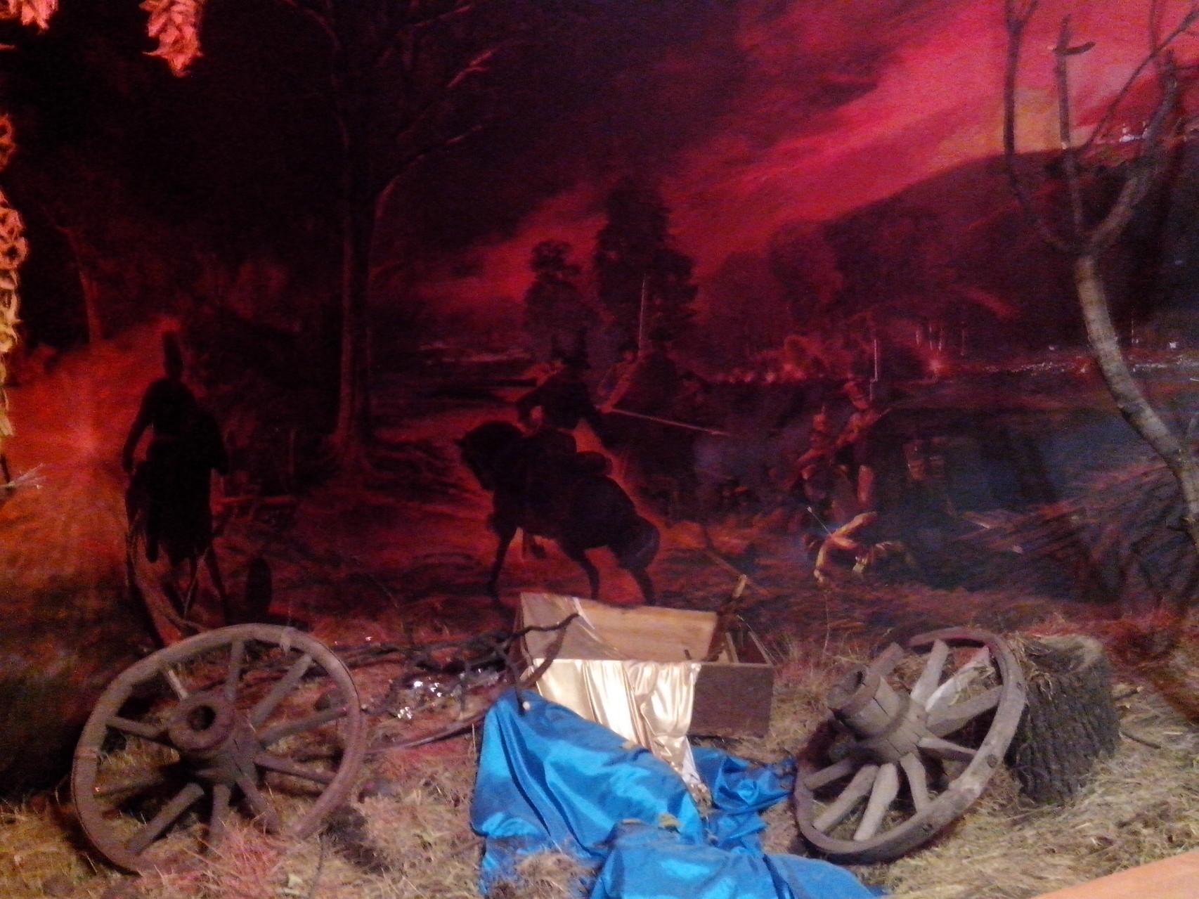 Экспозиция, посвященная участию башкир в Отечественной войне 1812 года. Национальный музей Республики Башкортостан