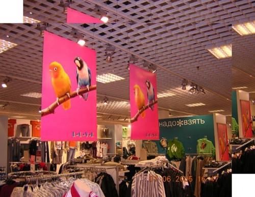 Интерьерное оформление магазинов