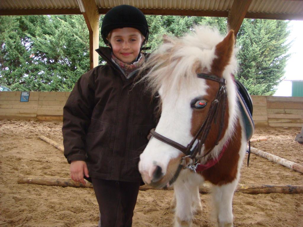 Avec mon poney pour progresser