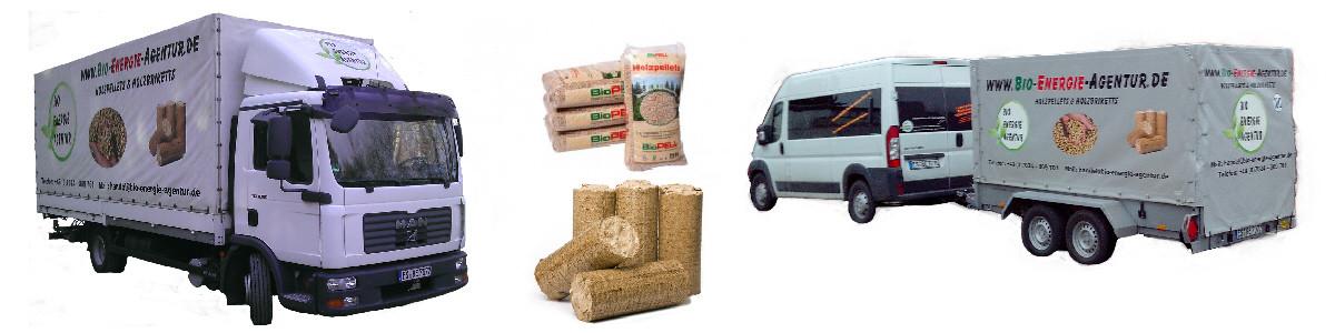 Unsere Transportmöglichkeiten für unser Holz - Briketts Pellets Brennholz
