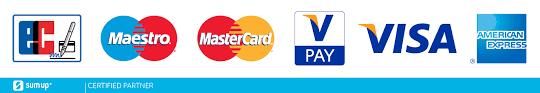 EC und Kreditkartenzahlung möglich