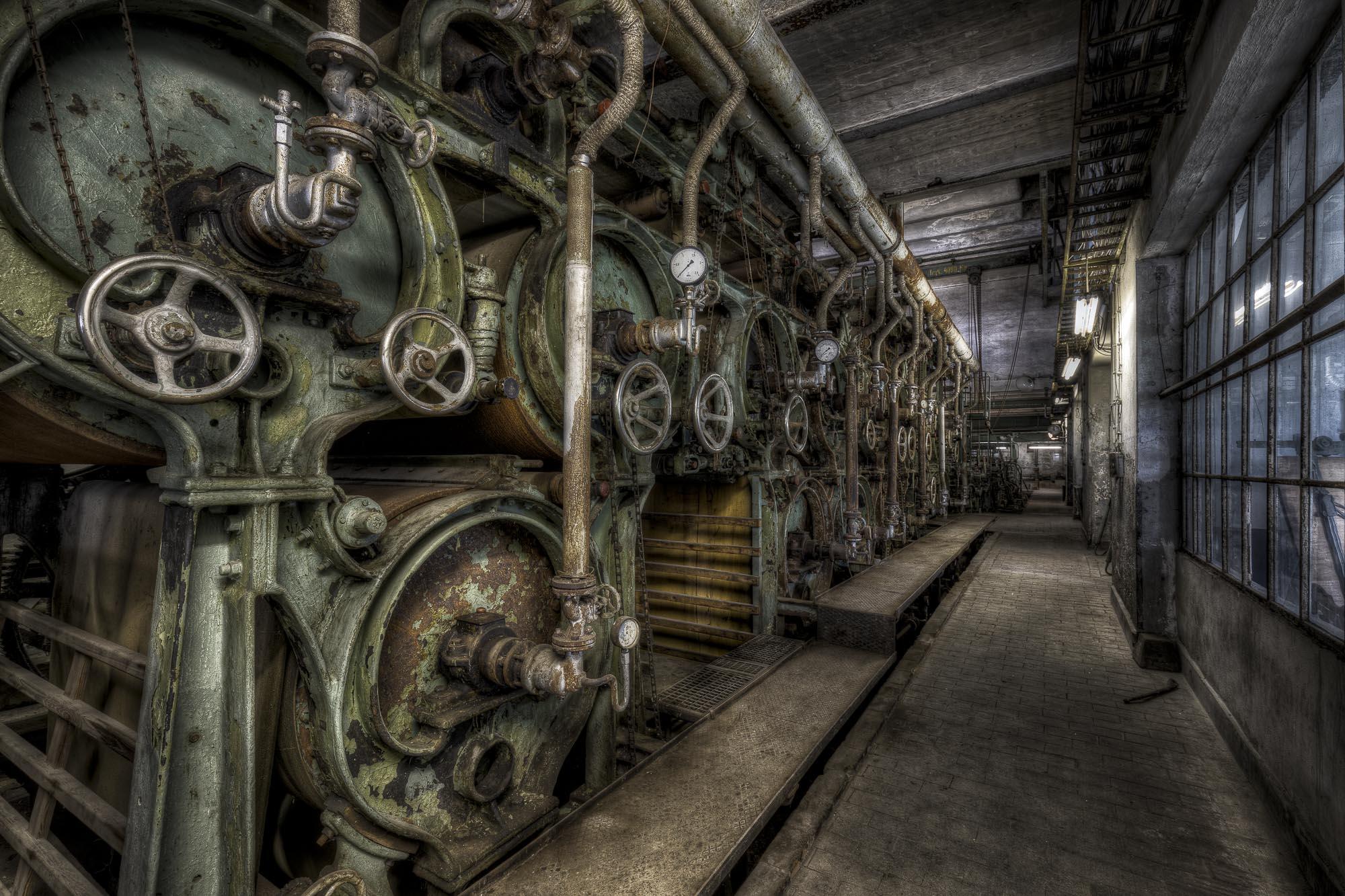 Papierwerk Sieversdorf - Foto: Holger Tobuschat