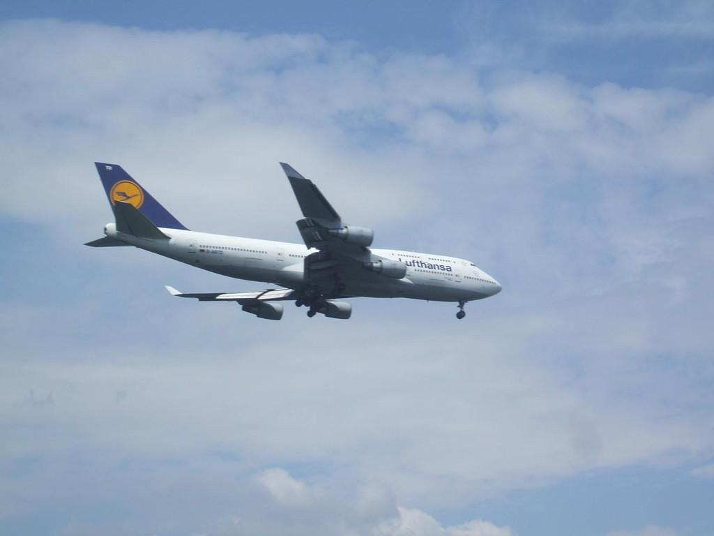 Anflug auf Frankfurt/Main © Andreas U.
