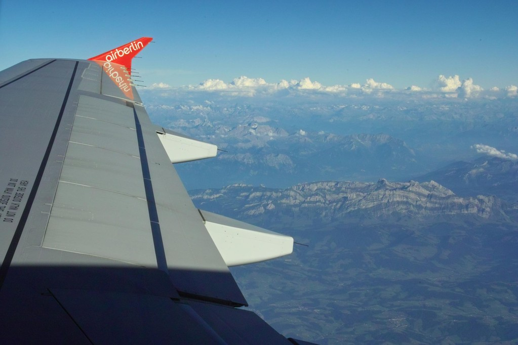 Über den Alpen © Andreas U.