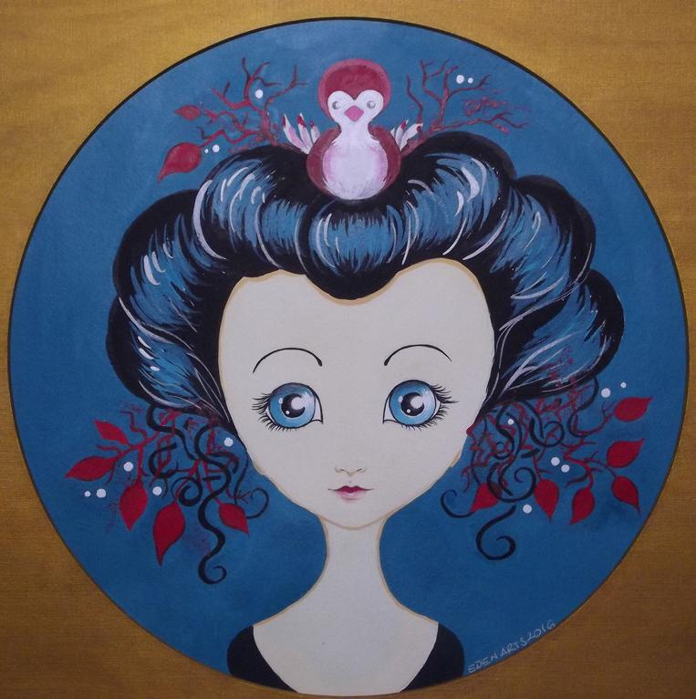 Geisha - Vogel