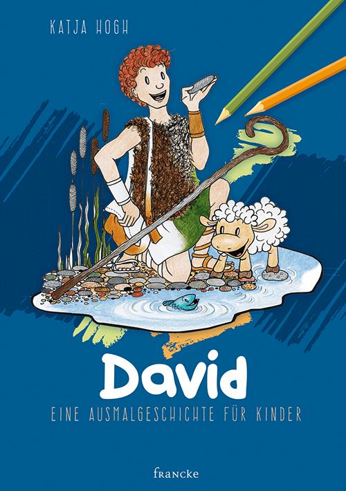 David - Eine Ausmalgeschichte für Kinder