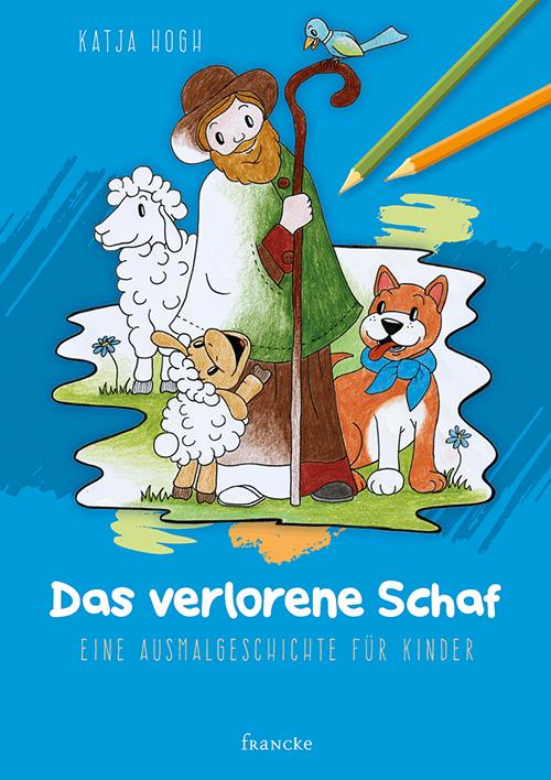 Das verlorene Schaf - Eine Ausmalgeschichte für Kinder