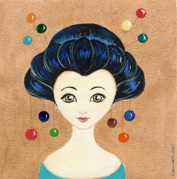 Geisha - Perlen II