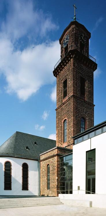 Verschiedene Rundbogen Fenster ©Gottstein John Architekten