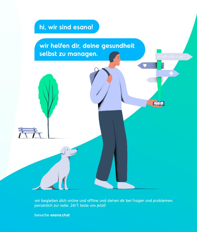 Corporate Design Keyvisual eHealth Illustration
