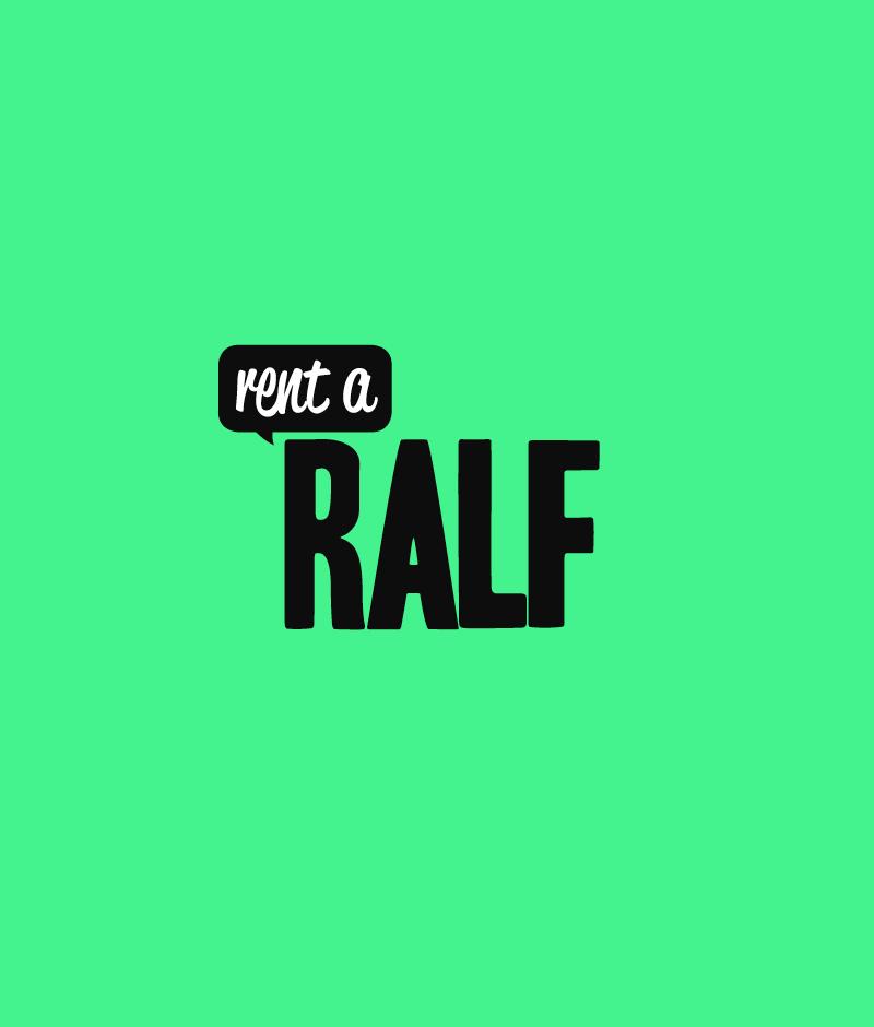 Logo Design auf Hausfarbe Grün