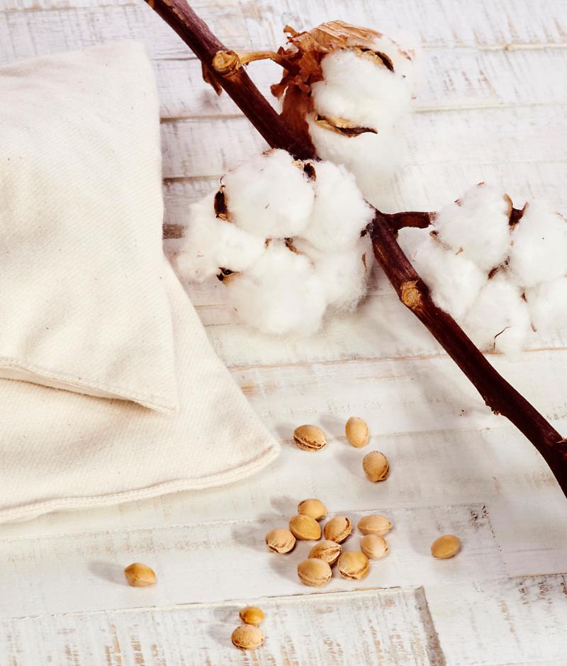 Baumwolle – Produktfoto von Hemma Nature