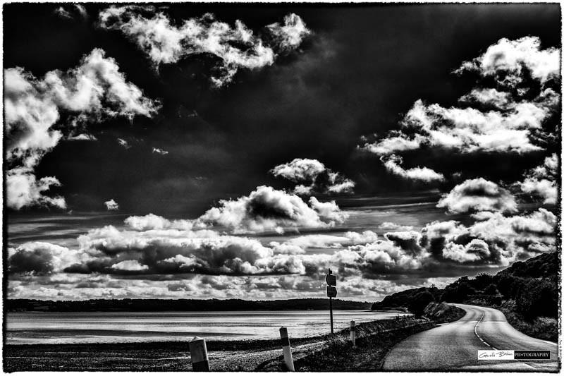 La route de la baie de Morlaix