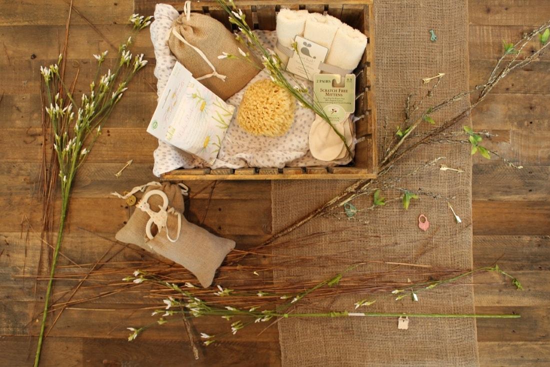 Geschek in einer Holzkiste