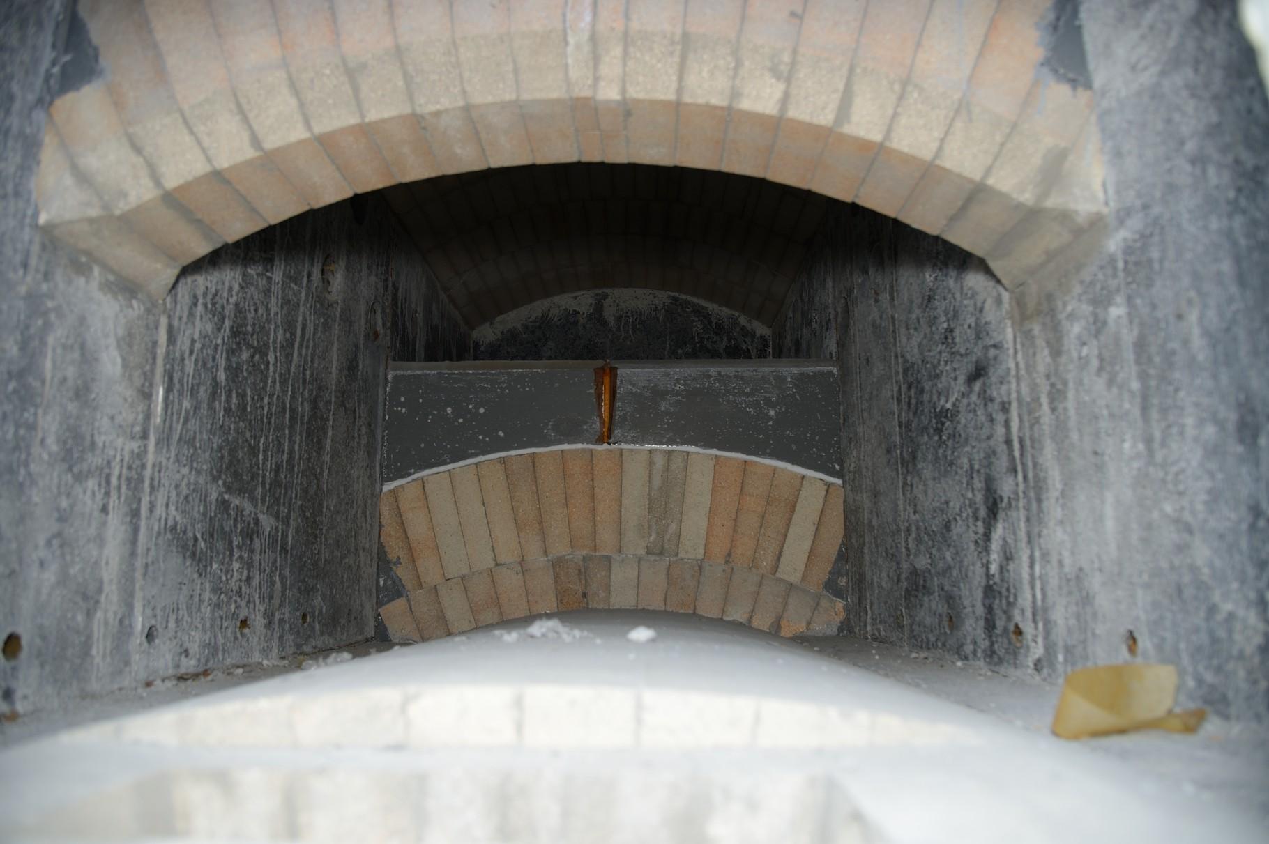 Gewölbe über Brennkammer