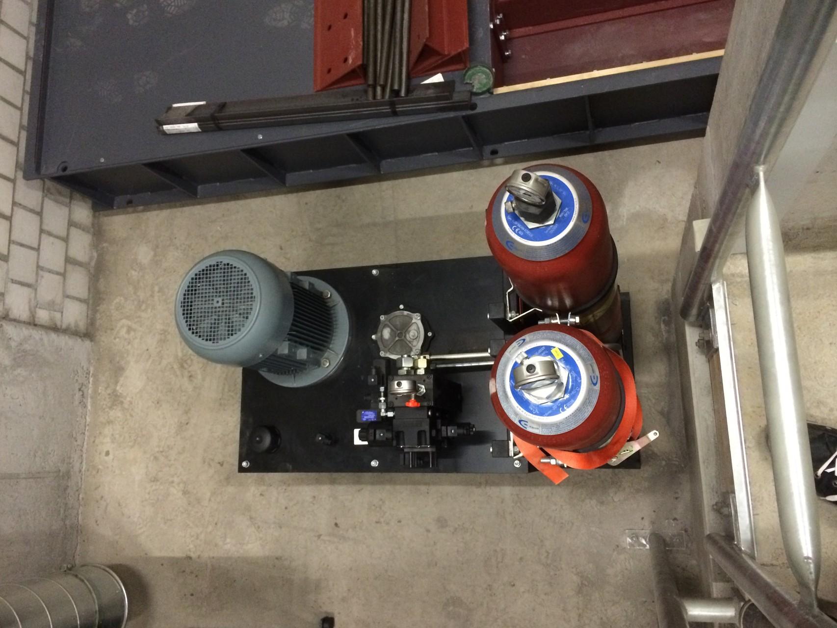 Hydraulikaggregat Einschieber