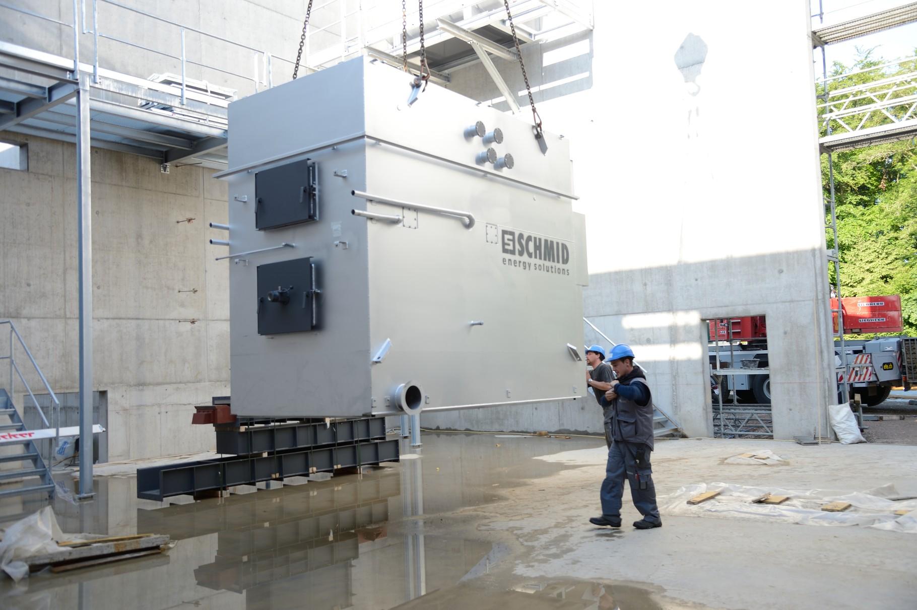 Brennkammer Holzhackschnitzel 1.600 kW
